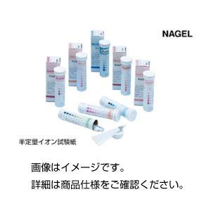 (まとめ)半定量イオン試験紙 パーオキシド25 100枚【×3セット】