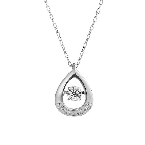 話題のDancing Stoneプラチナダイヤネックレス 爆買い送料無料 人気アイテムです ダンシングストーンペンダント プラチナPt900 天然ダイヤモンド 当店一番人気 FTW-1089