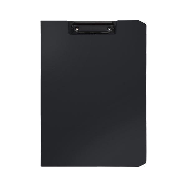 (まとめ) ソニック クリップファイル ソフィット A4タテ ブラック【×20セット】