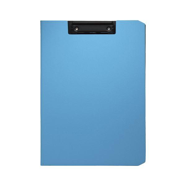 (まとめ) ソニック クリップファイル ソフィット A4タテ ライトブルー【×20セット】