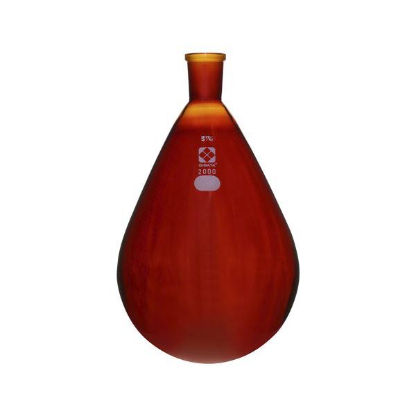 共通摺合なす形フラスコ 激安通販 茶褐色 005270-292 40%OFFの激安セール 2L