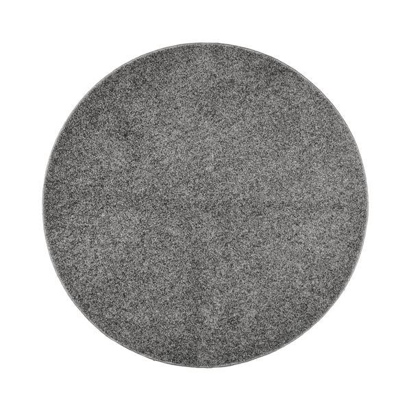 抗菌防臭 ラグマット/絨毯 【160R グレー】 円形 日本製 折りたたみ 防ダニ ホットカーペット 通年可 『デタント』【代引不可】【送料無料】