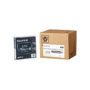 TANOSEE 富士フイルム LTOUltrium6 データカートリッジ 2.5TB/6.25TB 1パック(5巻)