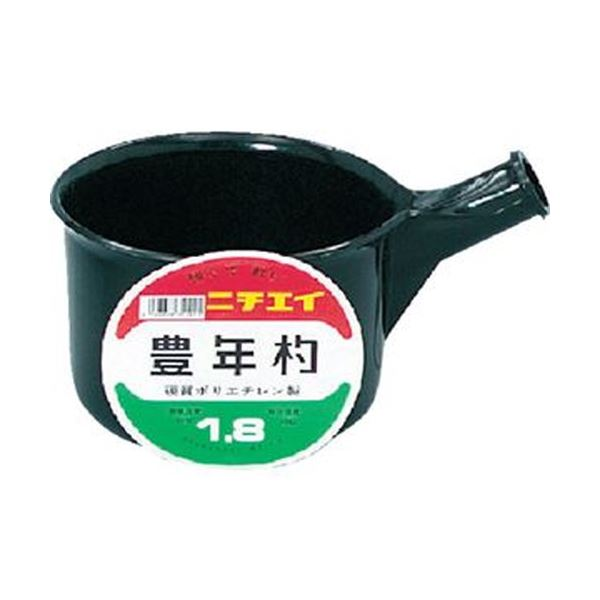(まとめ)DICプラスチック 豊年杓#1.8柄なし SK-1.8 1個【×20セット】