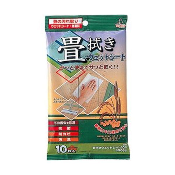 (まとめ)アズマ工業 畳拭きウェットシートSQ065 1パック(10枚)【×50セット】