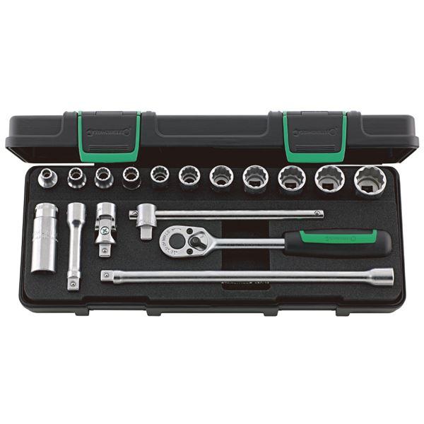 専門ショップ 45A/12/5KN (3/8SQ)ソケットレンチセット STAHLWILLE(スタビレー) (96025204):リコメン堂-DIY・工具