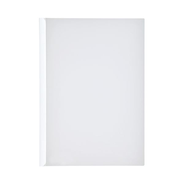 (まとめ)LIHITLAB スライドバーファイル G1720-0 白 10冊【×30セット】