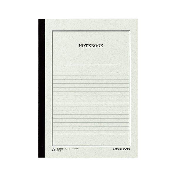 (まとめ) コクヨ ノートブック(事務用) セミB5A罫 100枚 ノ-90A 1セット(5冊) 【×5セット】