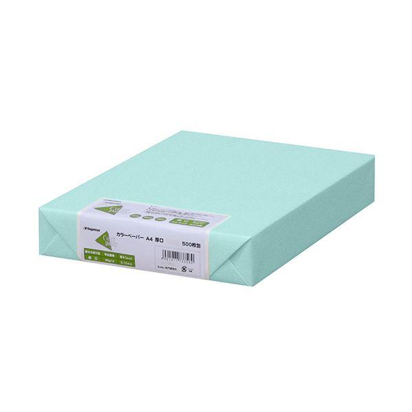 (まとめ)長門屋商店 Color Paper A4厚口 空 ナ-3362 1冊(500枚) 【×3セット】