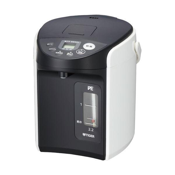 タイガー魔法瓶 VE電気まほうびんとく子さん 2.2L PIQ-A220W 1台
