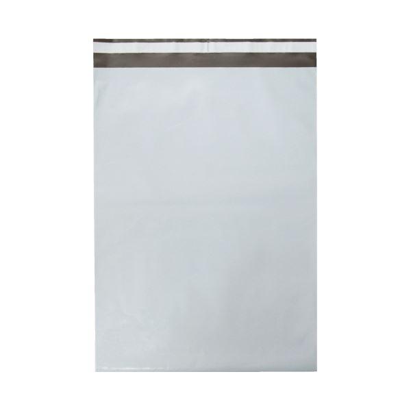(まとめ)今村紙工 PE宅配袋 大 100枚 PE-TL(×20セット)【送料無料】