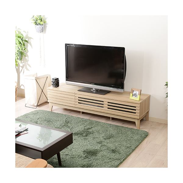 TV台 ライン 150cm幅 NA ナチュラル【代引不可】