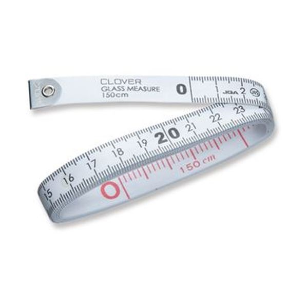 ガラス繊維を使用した伸縮のない正確な150cmメジャー 誕生日プレゼント まとめ 即納 クロバー グラスメジャー 150cm77-141 1個 ×20セット