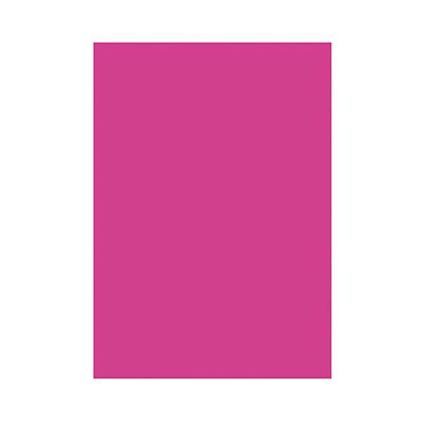 (まとめ)タカ印 蛍光ポスター 13-3183 A4 ピンク【×30セット】