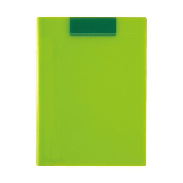 (まとめ)セキセイ クリップファイルA4 ライトグリーン ACT-5924-33(×20セット)【送料無料】