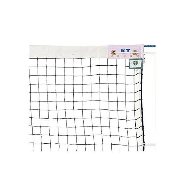 KTネット 正式ソフトテニスネット 日本製 【サイズ:12.65×1.06m】 ブラック KT213