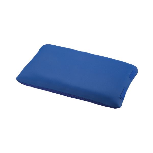 入浴サポートクッションII(枕型大)ブルー