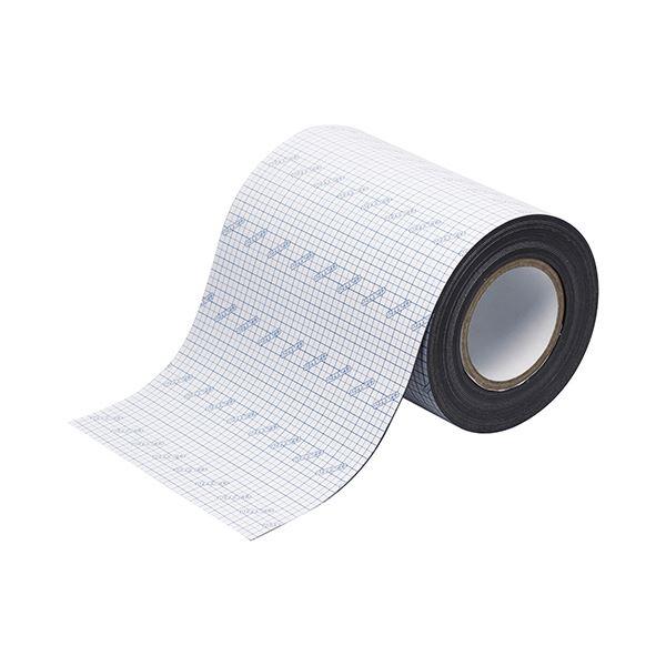 ソニック マグネット粘着ロールカッティングライン付 幅200mm×長さ10m×厚さ0.8mm MS-8014 1巻