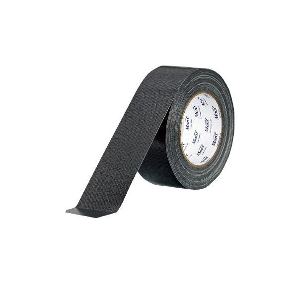 (まとめ)古藤工業 工事用布粘着テープNo.8002 黒 50mm×25m【×30セット】