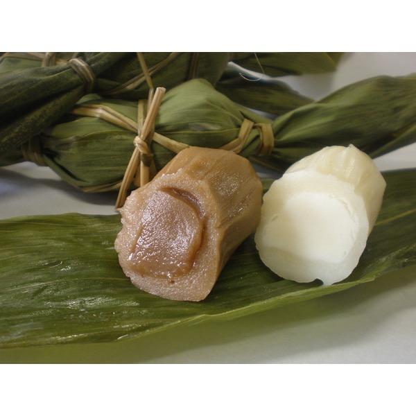 通常の笹団子とは違う!新味の笹団子です。 洋風笹団子30個セット(コーヒー餡15個+ミルク餡15個)