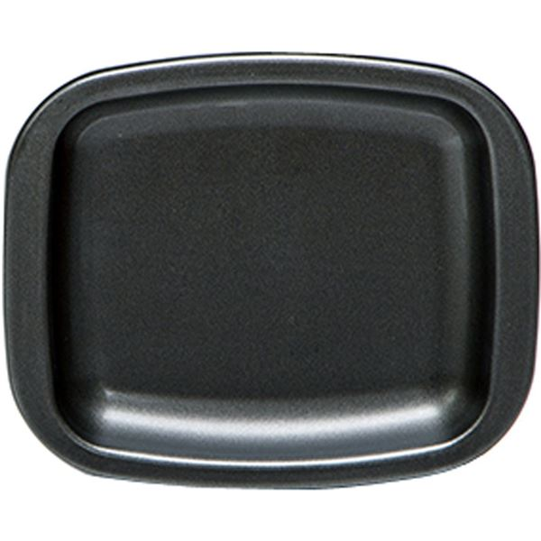 (まとめ) トースターパン/調理器具 【プレート 小】 アルミ製 フッ素樹脂加工 朝ごはん調理 時短調理 【×40個セット】