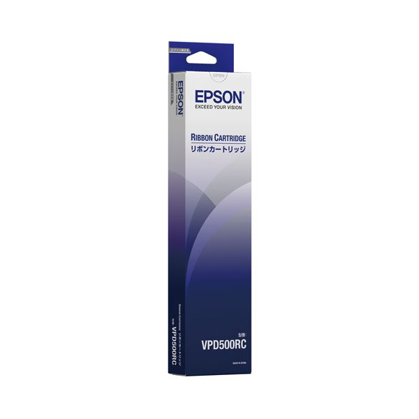 (まとめ)エプソン リボンカートリッジ VPD500RC【×30セット】