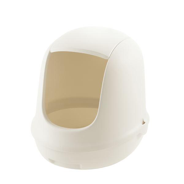 インテリアに馴染むカラーで猫と過ごすおしゃれ空間を演出 ラプレ ネコトイレ ペット用品 ホワイト セール フード付 気質アップ