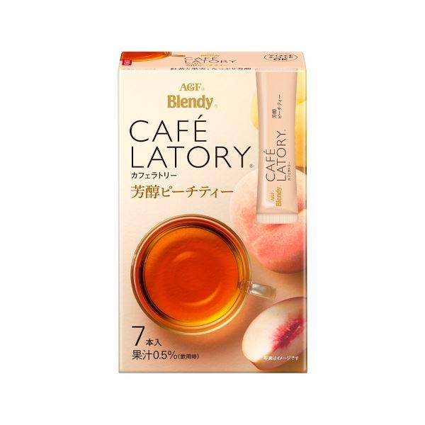 (まとめ)味の素AGF ブレンディ 芳醇ピーチティー7本【×50セット】