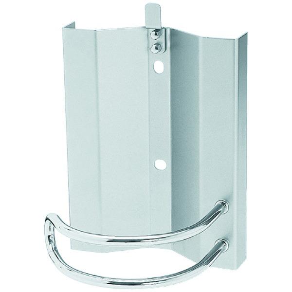 消火器ボックス 壁付型 SK-FEB-01K シルバーメタリック【0331-50024】