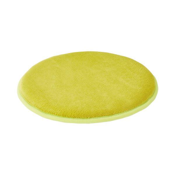 丸洗いできるクッション まとめ オカトー 低反発チェアパッド 直営店 グリーン 1個 ×5セット 丸型 着後レビューで 送料無料