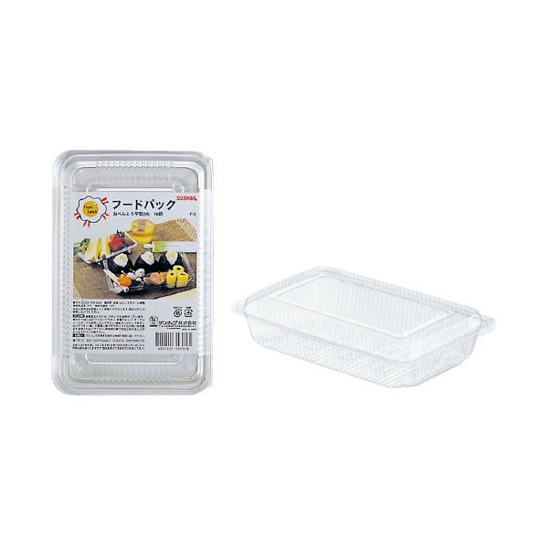 初回限定 まとめ 最安値挑戦 サンナップ フードパック お弁当平型M 送料無料 ×100セット 10組