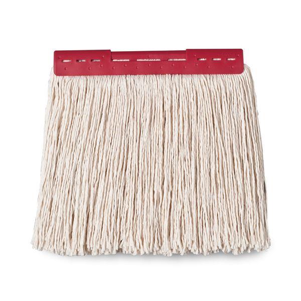 (まとめ) テラモト FXモップ替糸(J)24cm 260g レッド CL-374-421-2 1個 【×30セット】