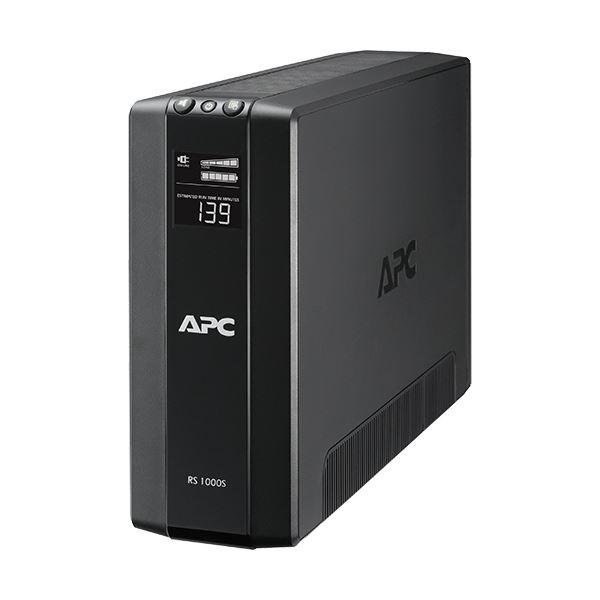 APC(シュナイダーエレクトリック)UPS 無停電電源装置 RS 1000VA/600W BR1000S-JP 1台