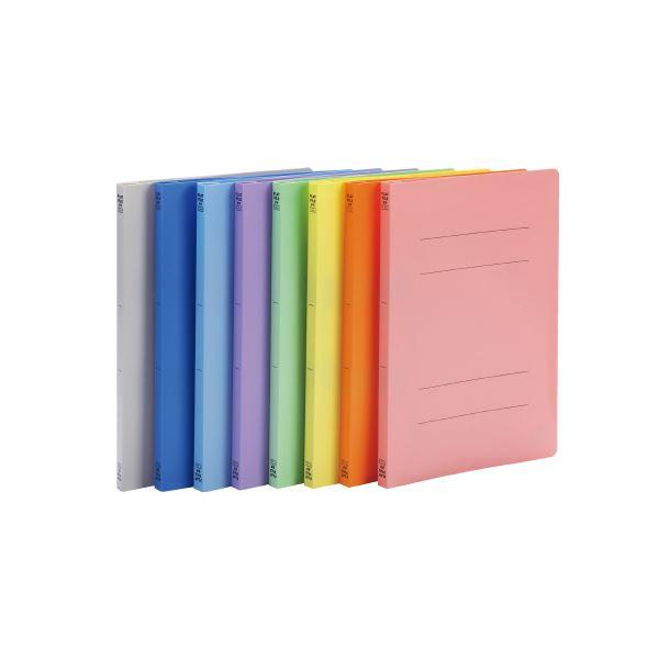 (まとめ)ビュートン フラットファイルPP A4S ピンク FF-A4S-P【×200セット】