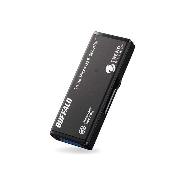 BUFFALO USB3.0対応セキュリティーUSBメモリー 4GB ウイルスチェックモデル 5年保証タイプ RUF3-HSL4GTV5