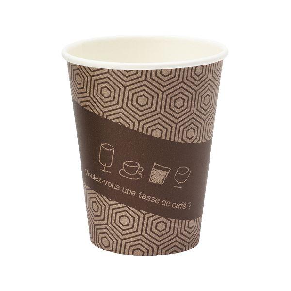 (まとめ)サンナップ 厚紙カップ タッセドカフェ 280mL 50個入【×50セット】