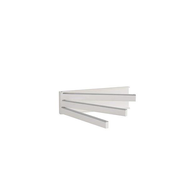 (まとめ) ふきん掛け/キッチン用品 【ホワイト】 マグネット収納 簡単取り付け 『Belca』 【×20個セット】