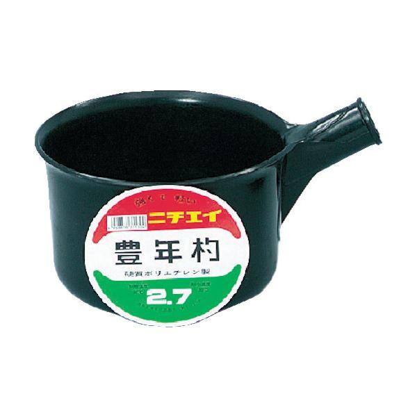 (まとめ)DICプラスチック 豊年杓#2.7柄なし SK-2.7 1個【×10セット】