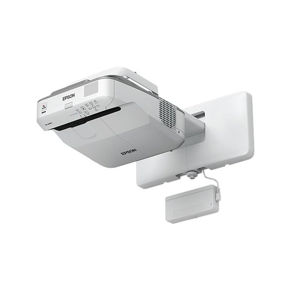 エプソン ビジネスプロジェクター/超短焦点壁掛け対応モデル/電子黒板機能搭載/指deタッチ操作/3500lm/WXGA/約5.9kg
