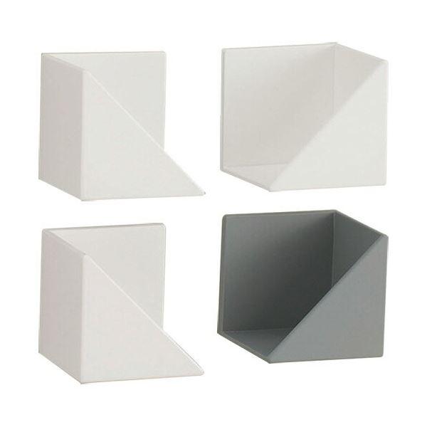 (まとめ) ラップ・ティッシュホルダー/キッチン用品 【ホワイト】 マグネット収納 簡単取り付け 『Belca』 【×20個セット】