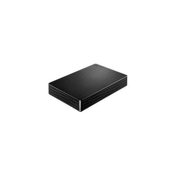 IOデータ 外付けHDD カクうす Lite ブラック ポータブル型 2TB HDPH-UT2DKR
