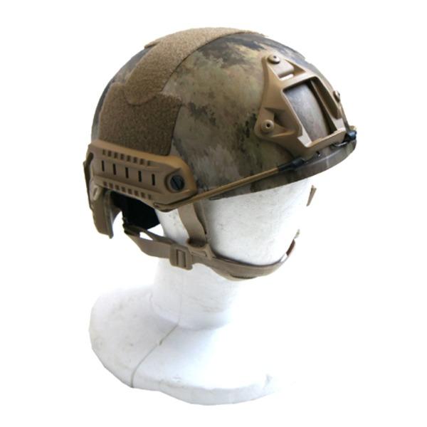 新作 大人気 アメリカ空挺部隊FASTヘルメットレプリカ A-TACS AU 贈答