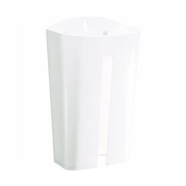 (まとめ)TRUSCO ウエスケース(マグネット2枚・吸盤3個付)ホワイト WSK-W 1個【×20セット】