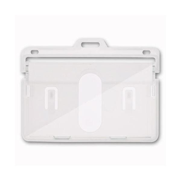 名札 プレート 入手困難 名札ケース まとめ ソニック IDカード用表示面ケース 1パック 在庫限り ハード ×30セット 3枚 NF-575