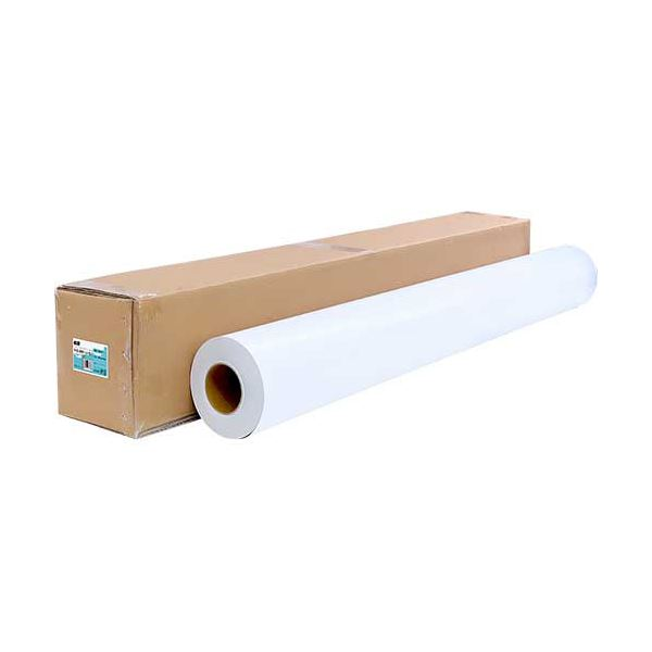 TANOSEE ラテックスプリンタ用中長期掲示用マット塩ビロール 54インチロール 1370mm×50m 3インチコア 1本