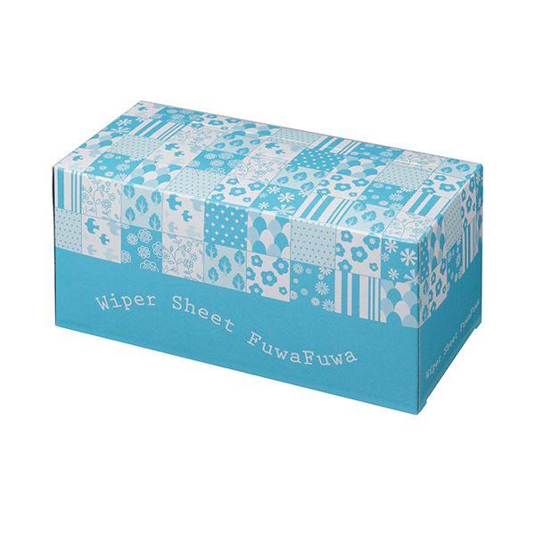 (まとめ)TANOSEE ワイパーシートふわふわタイプ 1箱(50枚)【×10セット】