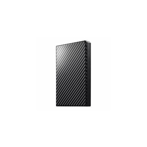 IOデータ USB 3.1 Gen 1対応 ポータブルHDD カーボンブラック 2TB HDPT-UTS2K【送料無料】