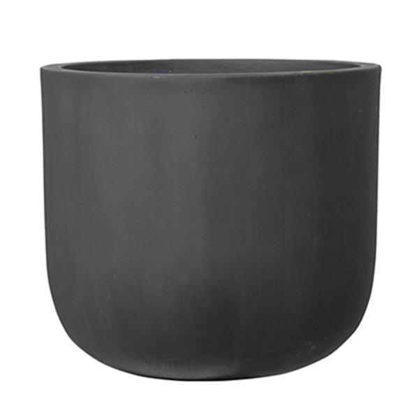 ファイバーセメント製 軽量植木鉢 オーク Uポット アンティークグレー 40cm 植木鉢