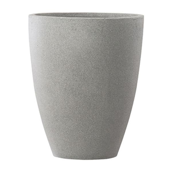 【送料無料】ファイバーセメント製 軽量植木鉢 スタウト アッシュミドル 36cm 大型植木鉢