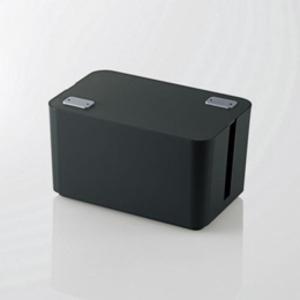 5個セット エレコム ケーブルボックス(4個口) ブラック EKC-BOX002BKX5